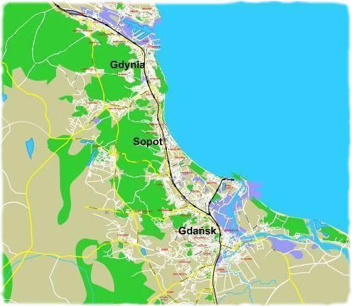 #3City map -> #Poland