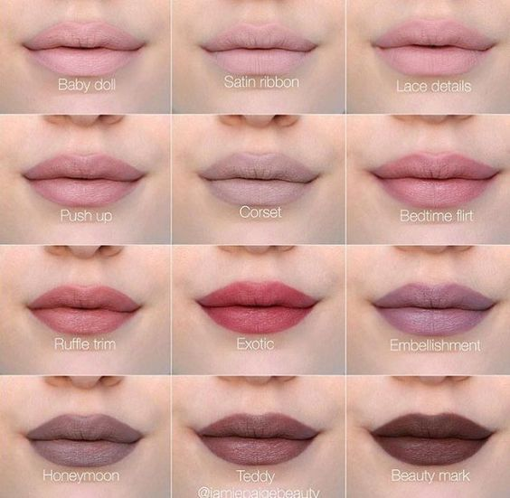NYX lingerie liquid lipstick swatches @katiestubbs13: