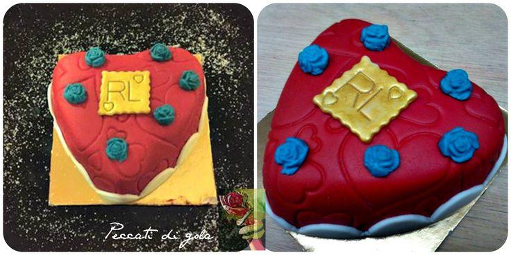 Mini heart cakes with ricotta cream ...