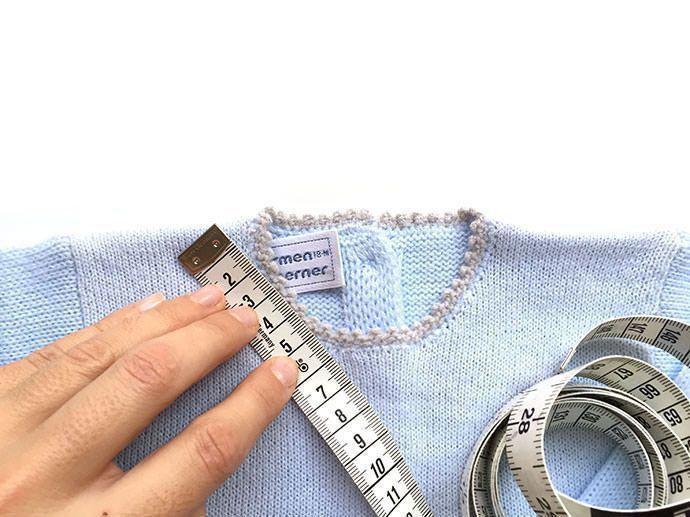 Cómo calcular los puntos para tejer una prenda