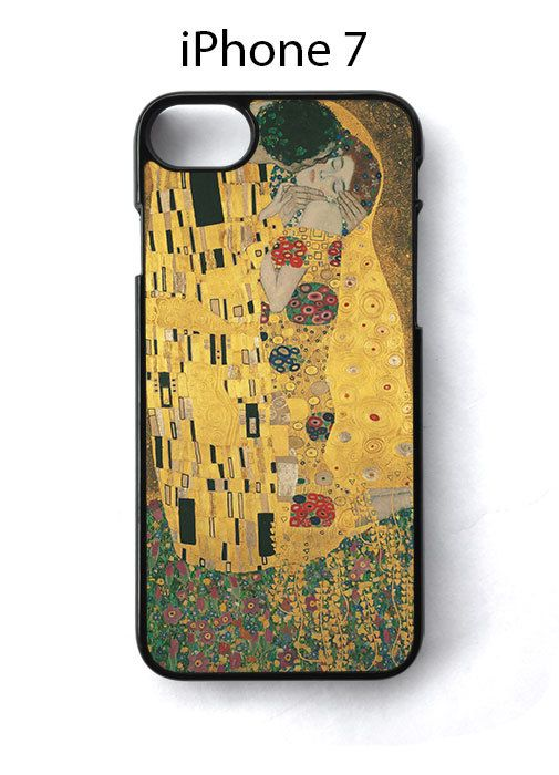 Kiss Painting by Klimt iPhone 7 Case Cover - Cases, Covers & Skins