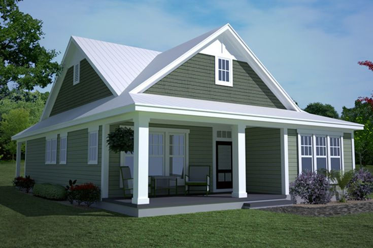 Ranch Style House Plan - 3 Beds 2 Baths 1697 Sq/Ft Plan #991-28 - Dreamhomesource.com