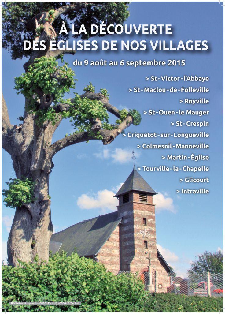 A la découverte des églises de nos villages édition 2015
