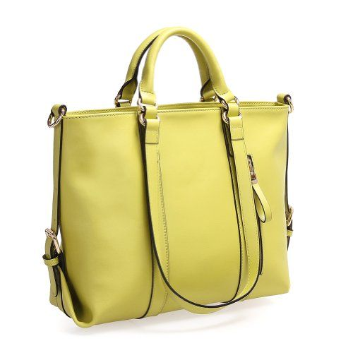 Fineplus Women'S Large Roomy Leather Multifunctional Shoulder Tote Bag 27