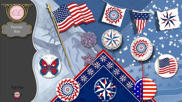 CLGraphics Patriotic Mini Kit
