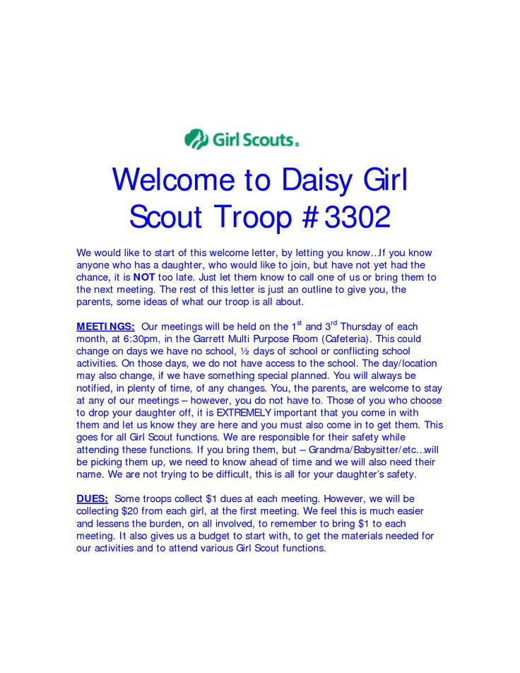 Forms & Resources Newsletters Girl Scouts of NE Kansas & NW.