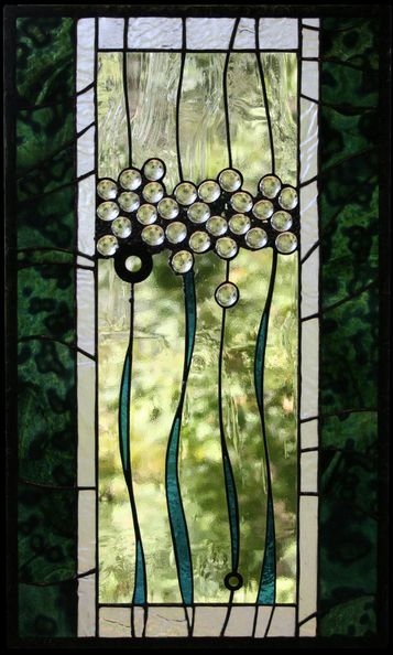 Love this design. Stained glass panel