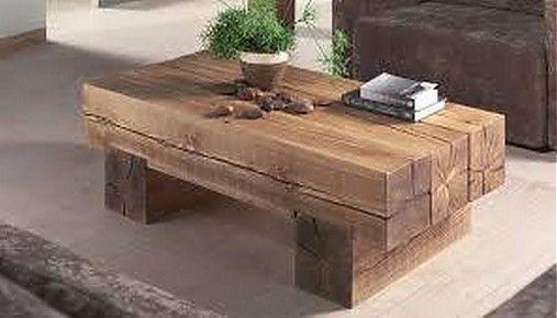 bapietro / konferencny stolik stare drevo