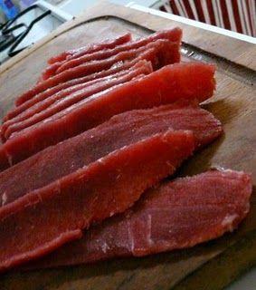 Вяленые рецепты для любителей мяса.