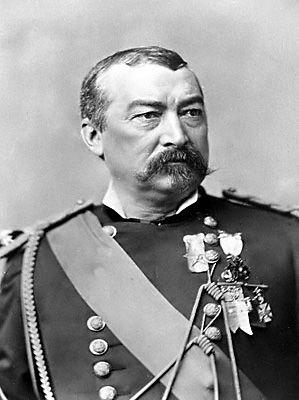 My great great great grandfather... civil war major general, philip sheridan