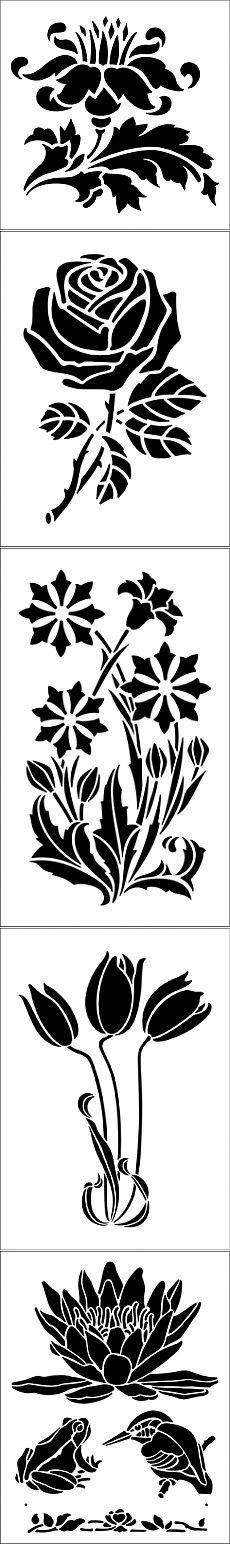 Plantillas para pintar ... 2 / decoración / ideas decoración interesante