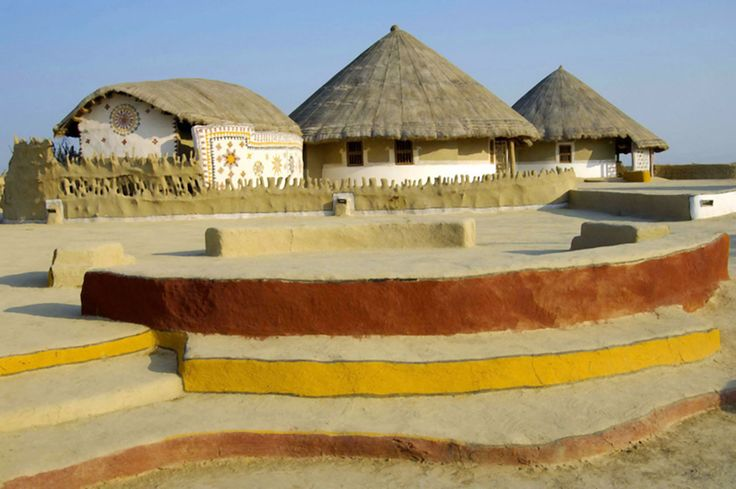 Kutch literally means something which intermittently becomes wet and dry; a large part of this district is known as Rann of Kutch which is shallow wetland which submerges in water during the rainy season and becomes dry during other seasons.