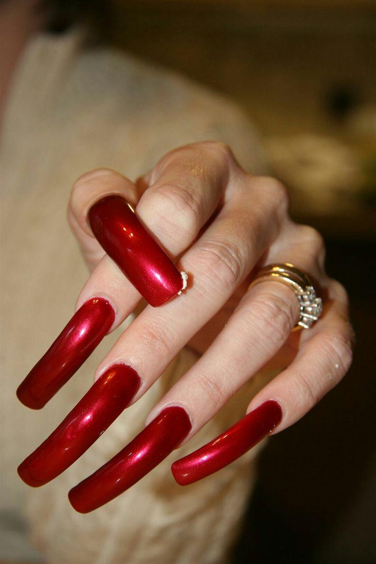 The 25+ best Long fingernails ideas on Pinterest | French ...
