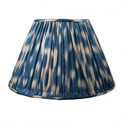Silk Ikat Lampshade by Susan Deliss, love love LOVE; available from www.englishabode.com
