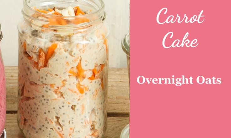 Rezept für Overnight Oats Carrot Cake