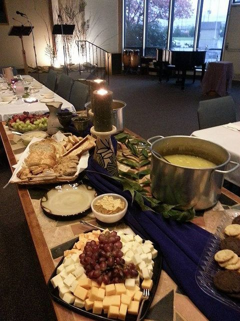 Maundy Thursday 2014 | Supper served on the communion table