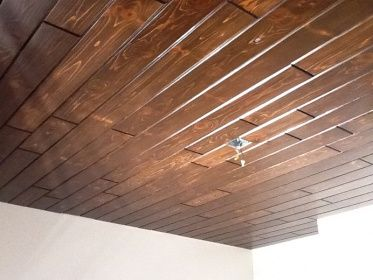 Excellent Thread That Discusses How To Stain Pine Paneling
