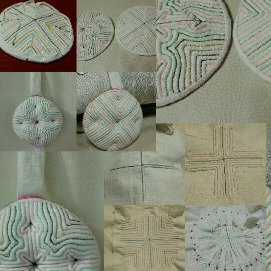 saeksil-nubim (korean traditional quilt)