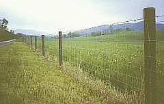 MAX-FLEX High Tensile Woven Wire Fence
