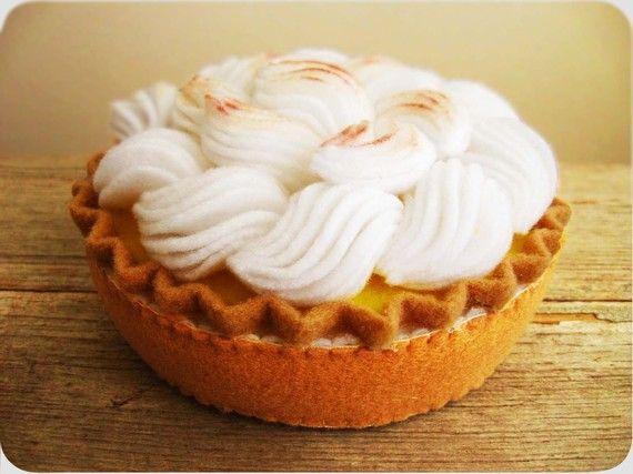 Lemon Meringue Pie by milkfly on Etsy, $40.00