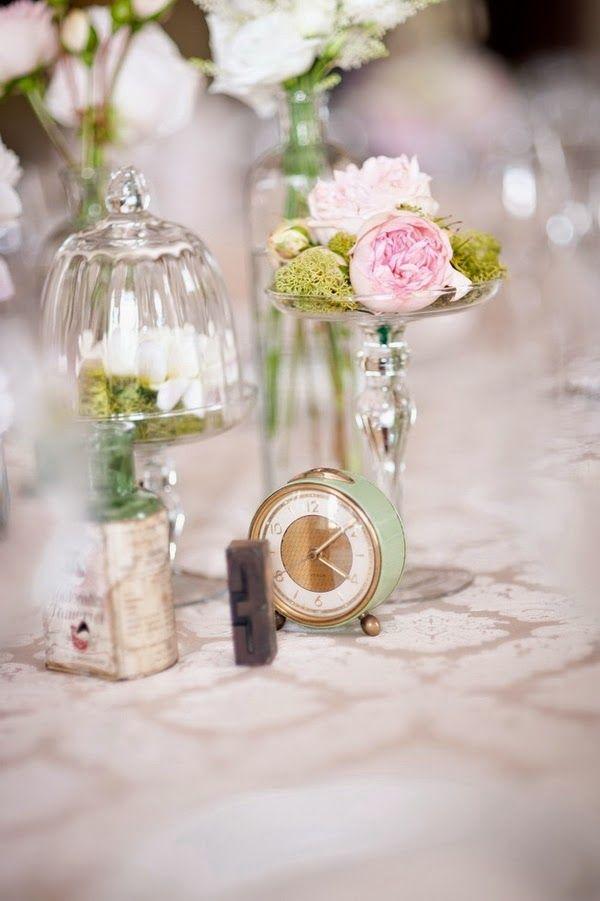 orologio centrotavola | clock centerpiece | Cinderella wedding | Un matrimonio da favola: Cenerentola http://theproposalwedding.blogspot.it/