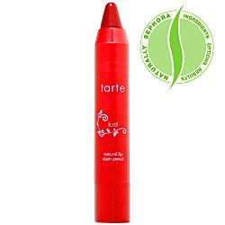 tarte lipsurgence natural lip tint - chunky lip pencil that's smooth & minty - my favorite lip product
