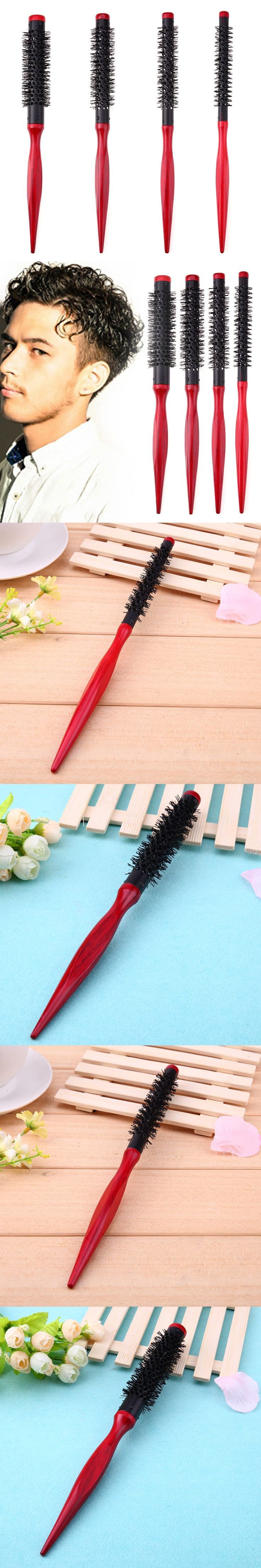 4 pcs Hair Roll Comb Antistatic Hairbrush Multifunction for Combing Curls Dye Cutting DIY Curly Hair Brushes Styling Tools Combs