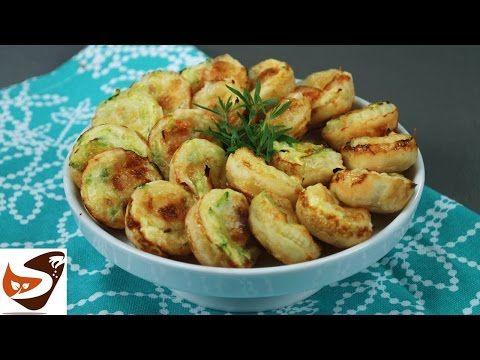 Cestini di pasta sfoglia con zucchine – Rustici salati - YouTube