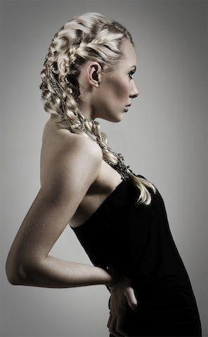 Dametrend Høst 2013. Hår og Make-up: Studio Alf Art Team. Foto: Kenneth Williams