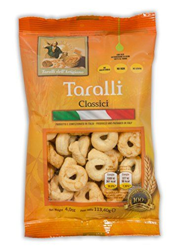 BOX of 14 BAGS (4 Oz each) Total 56 Oz. -TARALLI CLASSIC - 100% NATURAL PRODUCT -PRESERVATIVE FREE-GREAT FOR PARTIES AND BIRTHDAYS ! LA BOTTEGA DELL'ARTIGIANO http://www.amazon.com/dp/B00SQBUA5U/ref=cm_sw_r_pi_dp_Zi-4ub153TYBA