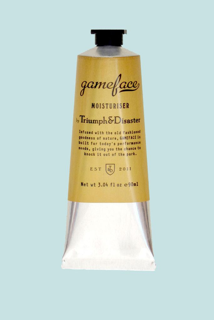 GOOD AS GOLD — GAMEFACE moisteriser, 90ML tube