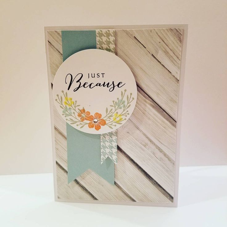 Delightful Card Making Ideas Close To My Heart Part - 13: Just Because Handmade Card Close To My Heart Products C1605 Happy To Be  Friends Z3274 Clear