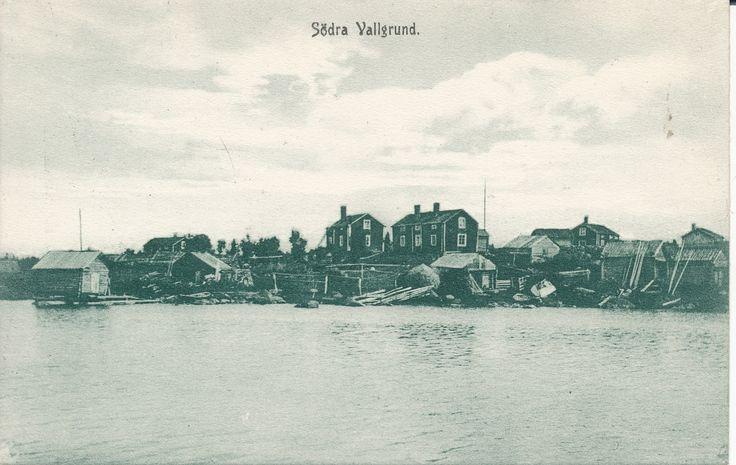 Södra Vallgrundin ranta-alue Raippaluodossa Strandområde vid Södra Vallgrund i Replot