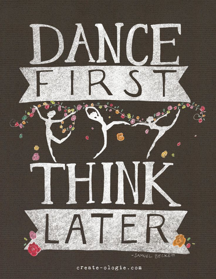 Dance First Think Later Get Some New Attire Or Take Lessons At