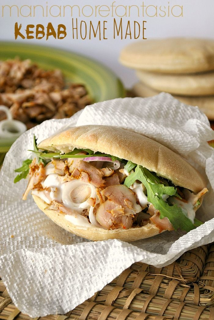 kebab di pollo fatto in casa
