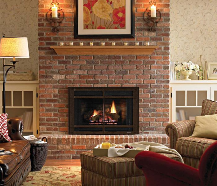 Gas Log Fireplace Insert | Come Visit our 48 Live Burning Displays!