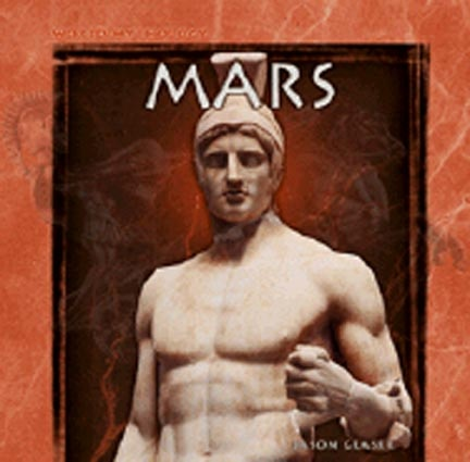 Ares/Mars is the Greco-Roman god of war.  The only god to never have a male love affair, Ares was considered fairly barbaric by the Greeks.  The Romans liked him better, naming many of their sons Marcus after him.  Mars also gave his name to our month of March and the planet Mars.  He was followed by the gods Deimos (terror) and Phobos (fear), and was the lover of Aphrodite/Venus, goddess of love, whom he impregnated with the Erotes, the winged gods of lust.Du Mâle, Romans God, Ares Mars, Romans Mythology, Classic Antiques, Ancient Artifacts, Greek God, Planets Mars, Greek Mythology