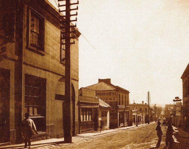 Chinatown - Little Bourke st, Melbourne in 1880. #twistedhistory #melbournemurdertours