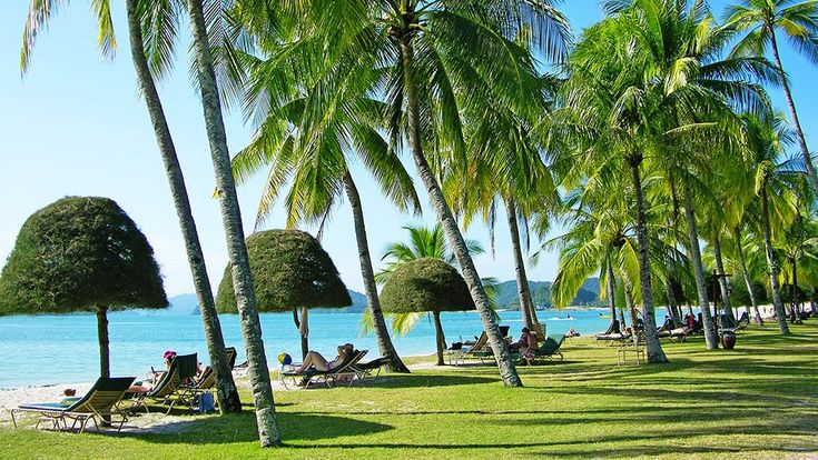 Langkawi - Malaysia. Already imagining myself sitting under the shade and enjoying the sea view. Gonna be relaxing!
