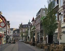 De Parade in Venlo. Een uitgaansstraat in de binnenstad van Venlo.