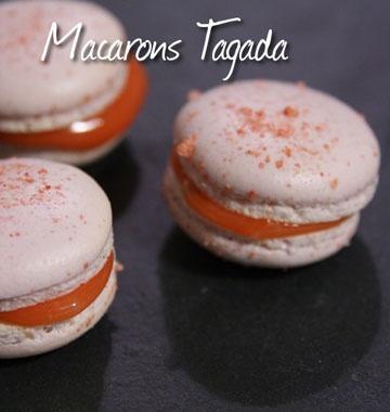 Macarons aux fraises Tagada - les meilleures recettes de cuisine d'Ôdélices  http://www.odelices.com/recette/macarons-aux-fraises-tagada-r2616