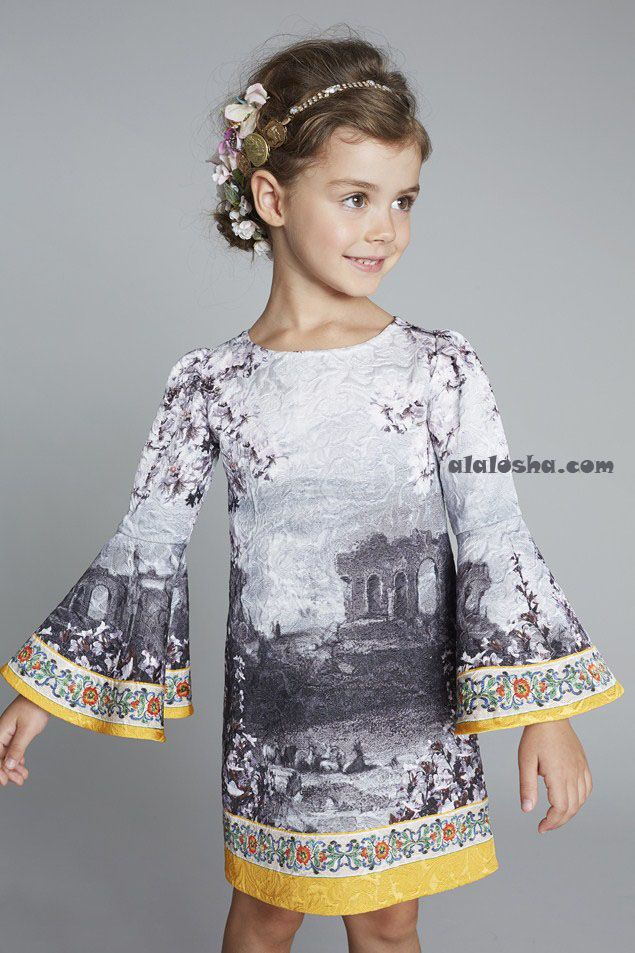 ALALOSHA: VOGUE ENFANTS: Dolce&Gabbana for little girls SS2014