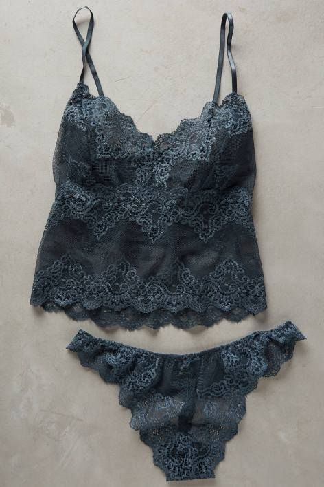 Cropped Lace Cami by Oh Oh So Fine | pinned by topista.com