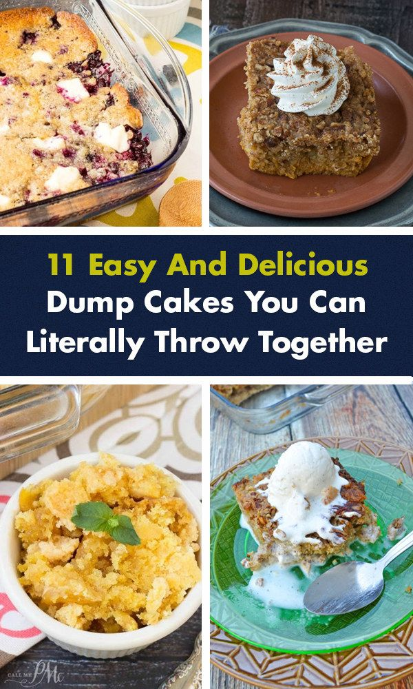 11 Easy And Delicious Dump Cakes You Can Literally Throw Together