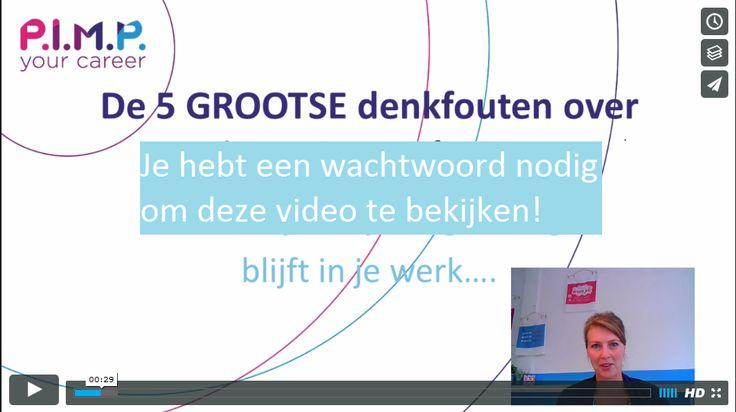 De 5 grootste denkfouten over jouw Droombaan > vraag hier het wachtwoord aan: https://www.e-act.nl/ah/site?a=2049&p=147864