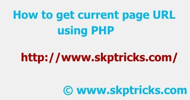 In this tutorial we are going to discuss how to get current page URL using PHP.$_SERVER is a super global variable which is always available in all scopes.We will use $_SERVER variable to get the current page URL. It is an array contains various information such as headers document path script location request method etc.   Explanation about some useful$_SERVERvariable :  $_SERVER['HTTP_HOST'] : Contents of the Host header from the current request if there is one.  $_SERVER['PHP_SELF'] :The…