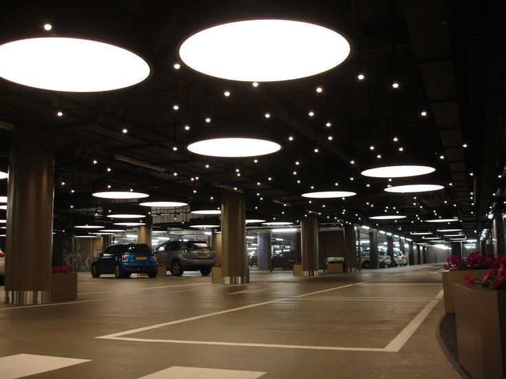 Carpark Lighting Interior Design Pinterest Signage