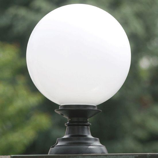 Pedestal Globe Light Elba 02 By Schlesische Laternen