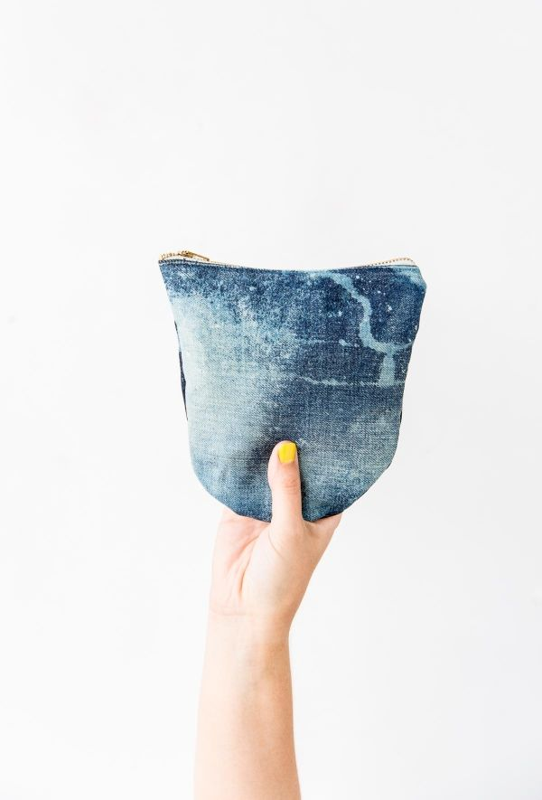 Jean Queen: How to Transform Old Jeans Into a Denim Clutch in About an Hour