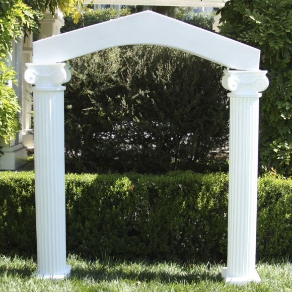 Columns With Arch Amico Mayko Wedding Pinterest